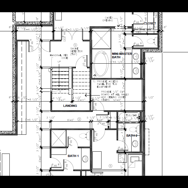 Residential Floor Plan 2